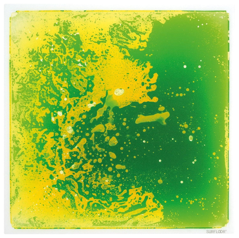 Amazon.com: Surfloor New, Bright & Cosmic Colored Liquid Tile, Green ...