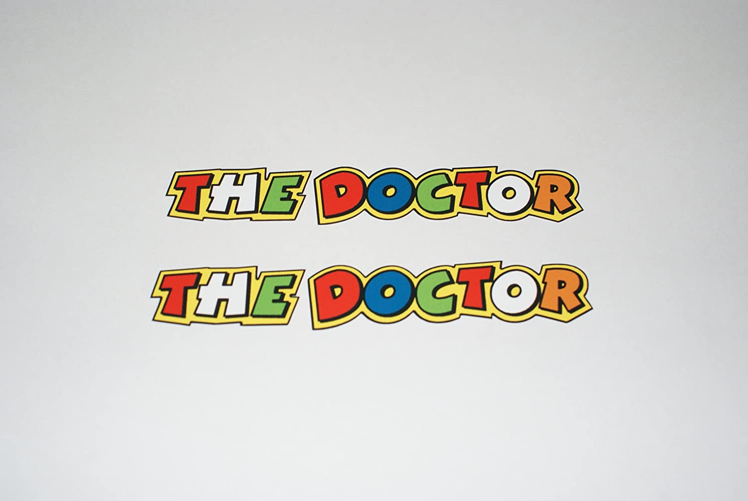 Rapro Graphics Valentino Rossi 'the Doctor' Decals/Stickers (Pair) .