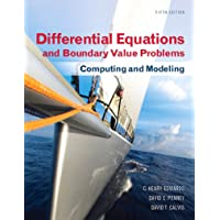 Differential Equations and Boundary Value Problems: Computing and Modeling (2-downloads) (Edwards, Penney & Calvis, Differential Equations: Computing and Modeling Series)