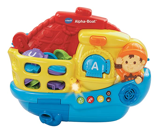 Amazon.com: Vtech Alpha barco juguete: Toys & Games