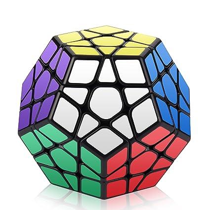 amazon com megaminx cube roxenda 3x3x3 pentagonal speed cube