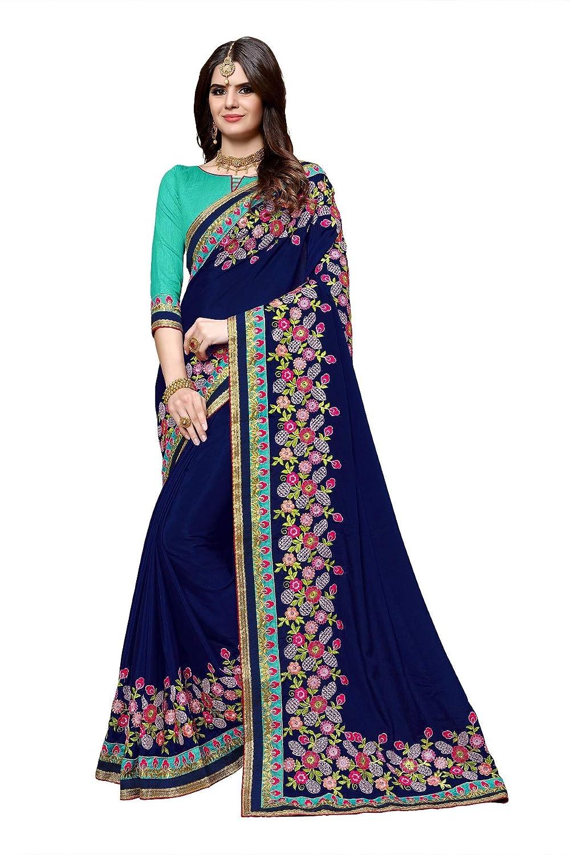 Saree Indian Designer Pakistani Bollywood Ethnic Sari traditional With Blouse FG
