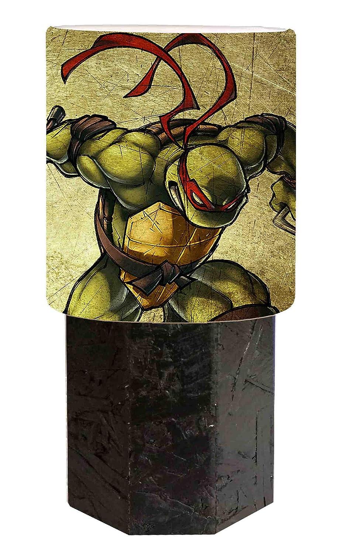 Pantalla de lámpara negra con diseño de Tortugas Ninja ...
