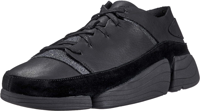 Clarks Mens Black Trigenic Evo Sneakers UK 11: Amazon.ca