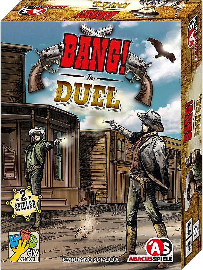 ABACUSSPIELE 38161 – Bang. The Duel,: Sciarra, Emiliano: Amazon.es: Juguetes y juegos