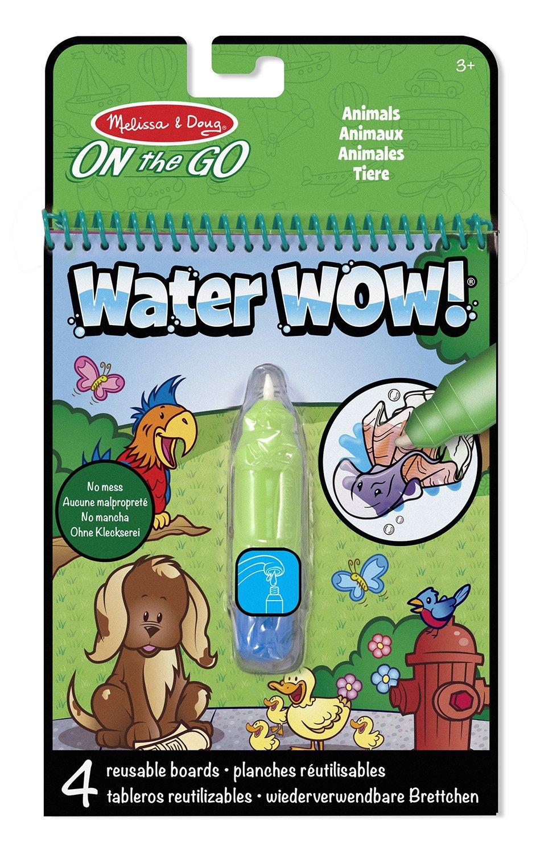 Melissa & Doug - Animales, bloc revelador para colorear con agua ...