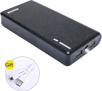 Amazon.com: Cargador portátil de 20000 mAh de gran capacidad ...