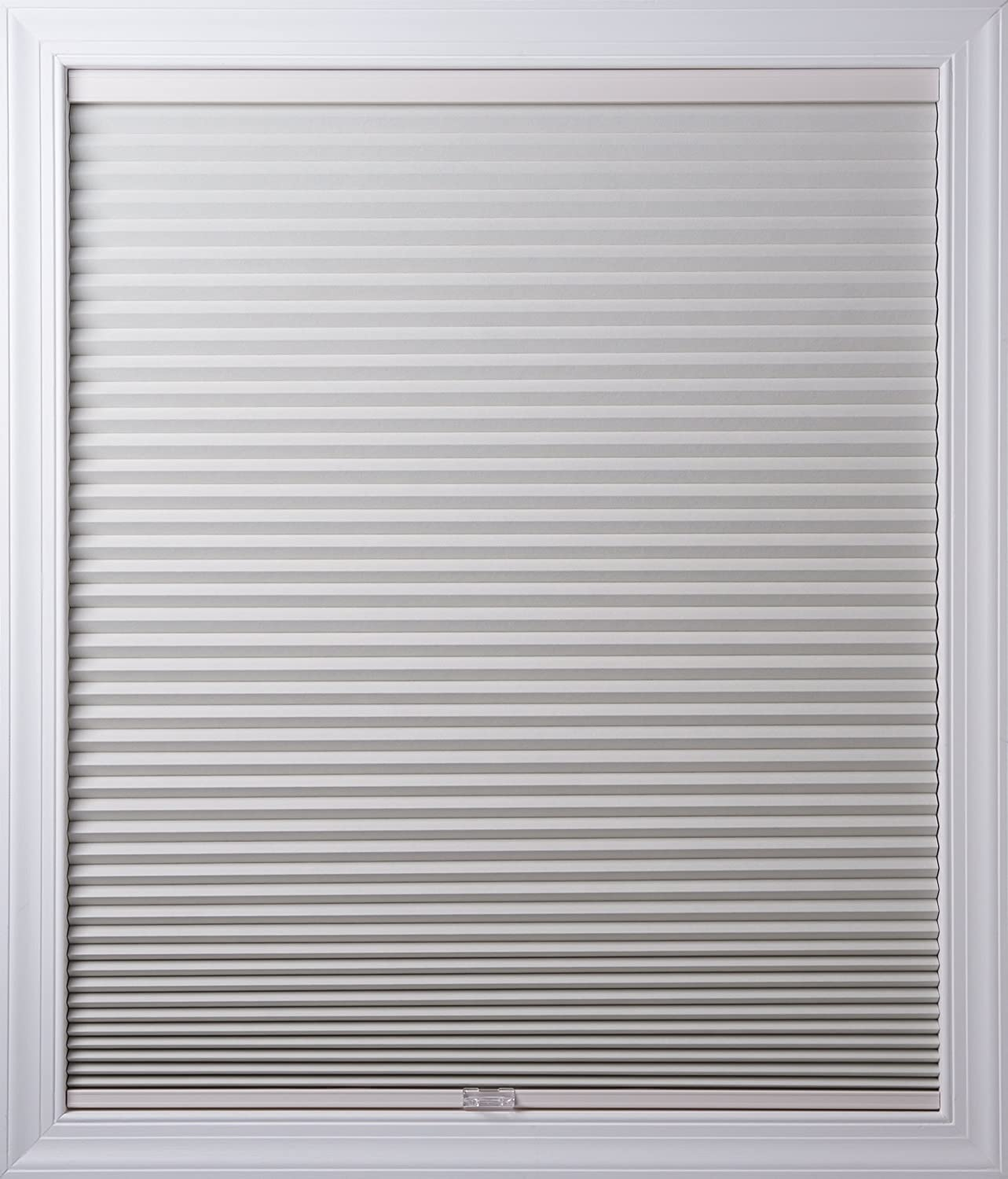 New Age Blinds 34 inch x 72 inch Cordless Cellular Shades, Inside Frame Mount, White Dove, Room Darkening Worldwide 7234NAWFIRDWHD