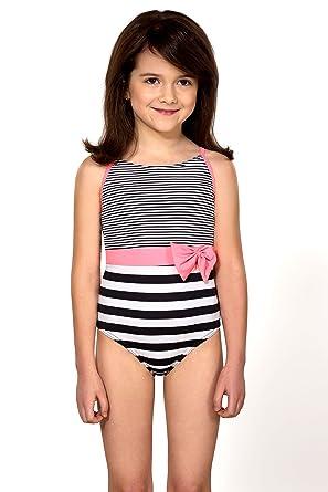 d6745b50bf LORIN Girls Kids Swimsuit One-Piece Swimwear Beachwear 3-10 Years M75:  Amazon.co.uk: Clothing