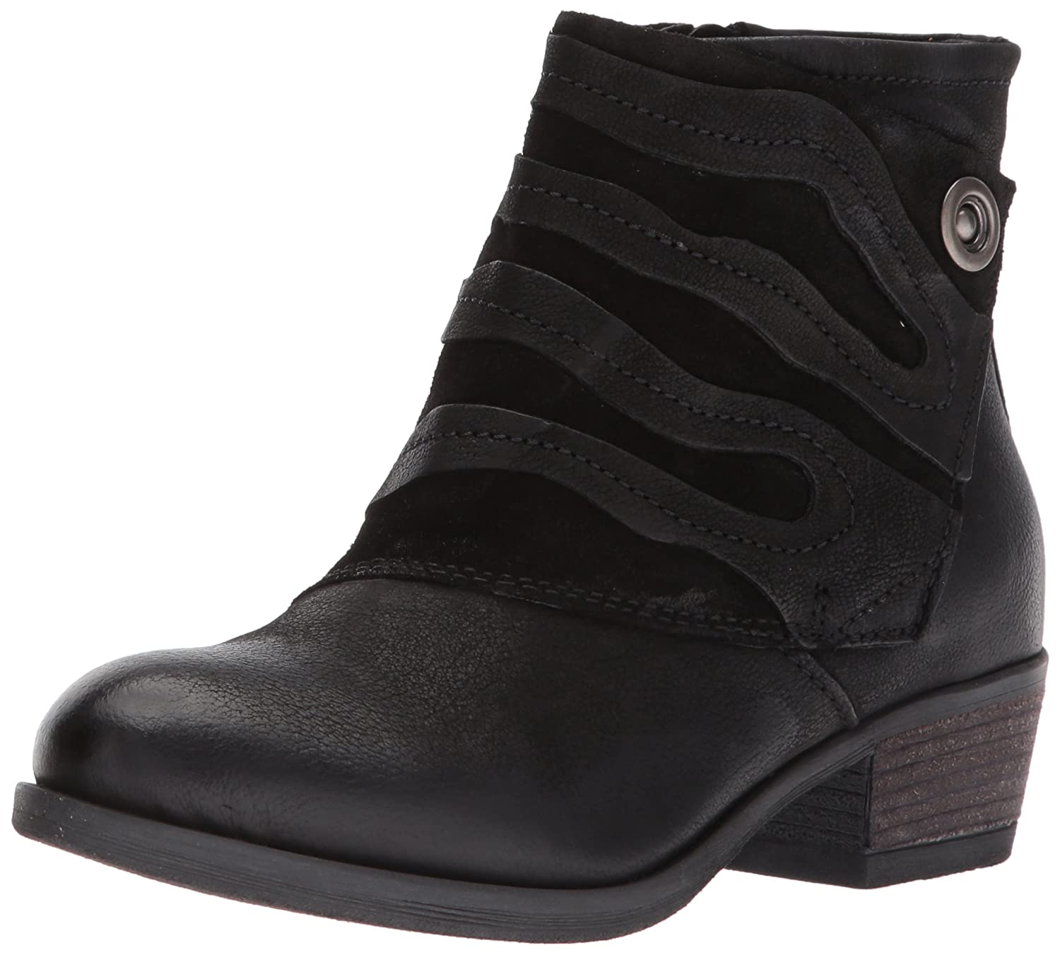 Miz Mooz Women's Benny Ankle Boot B06XS1K45R 38 M EU (7.5-8 US)|Black