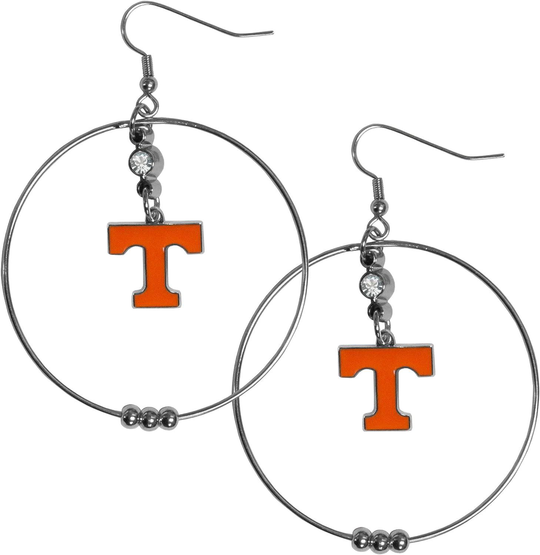 2-Inch Siskiyou NCAA Hoop Earrings