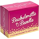 Bachelorette Bundle - 7 Fun Bachelorette Party Games (Bubbly Pong, Quiz The Groom, Bach Charades, I Have Never, Who…