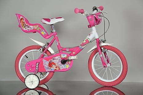 Bici 16 Winx Rosa 164r Amazonit Giochi E Giocattoli