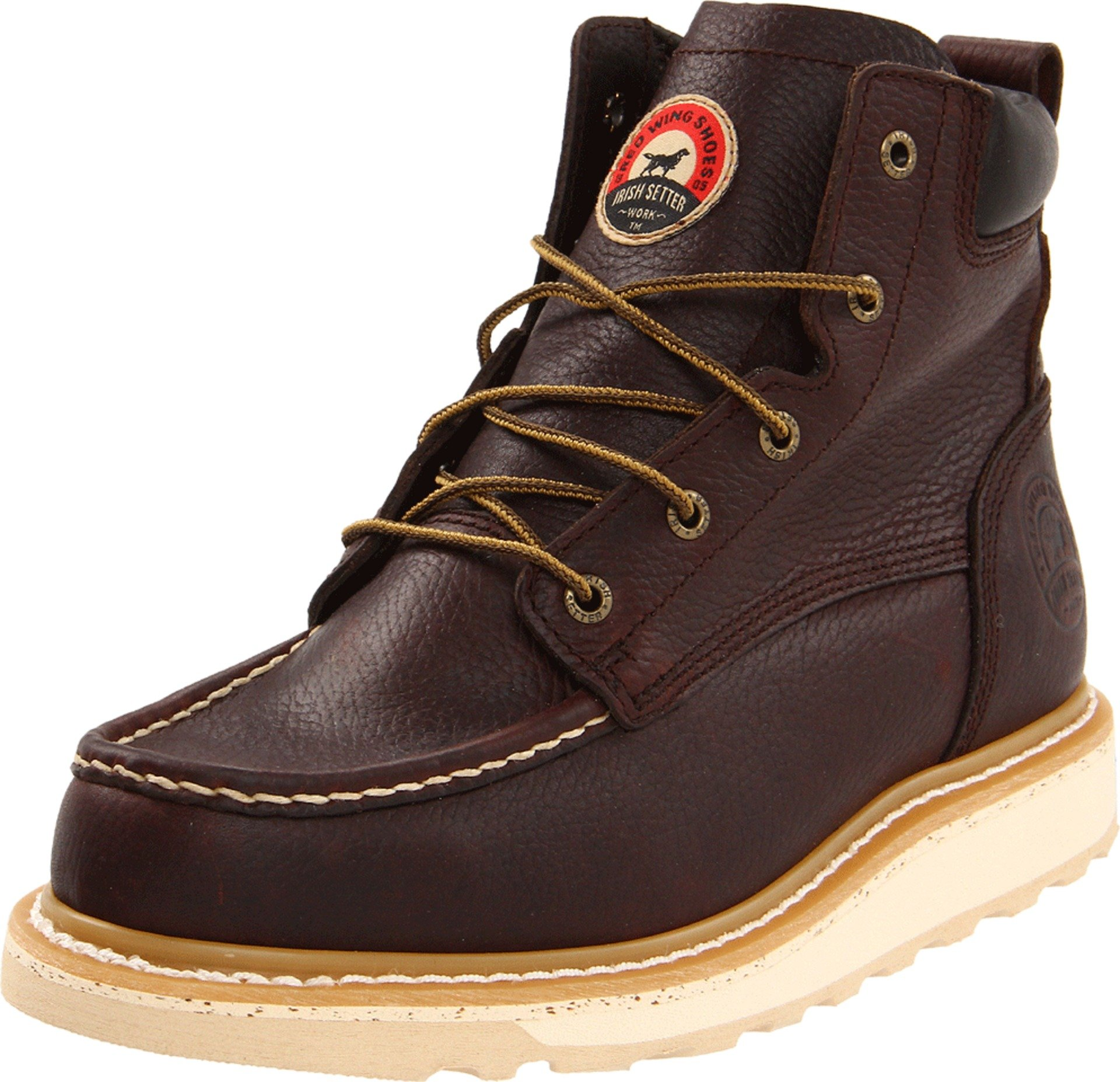 Irish Setter Men's 6'' 83605 Work Boot,Brown,9 D US by Irish Setter