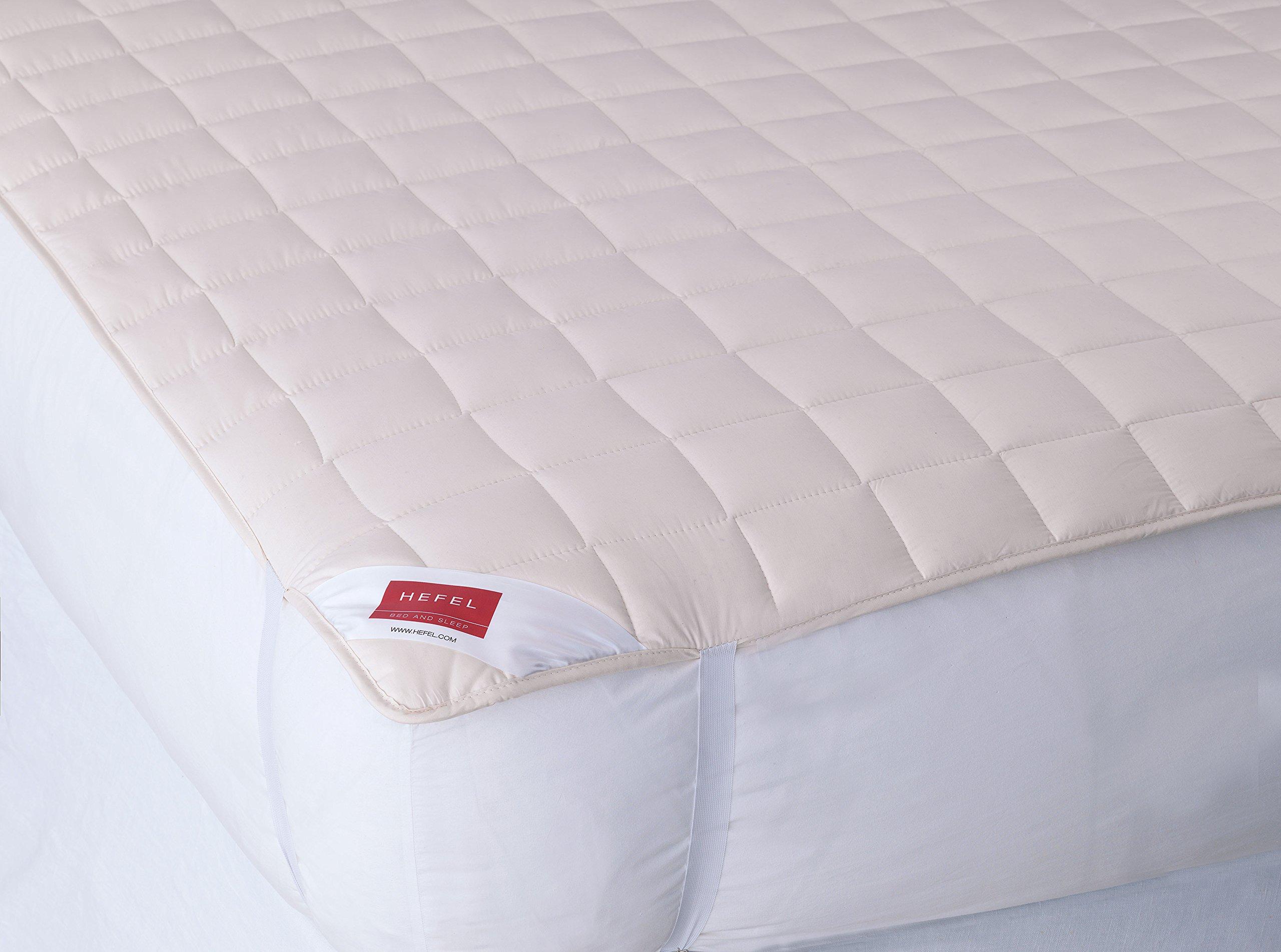 Hefel 2410U Cotton Organic Mattress Pad, California King
