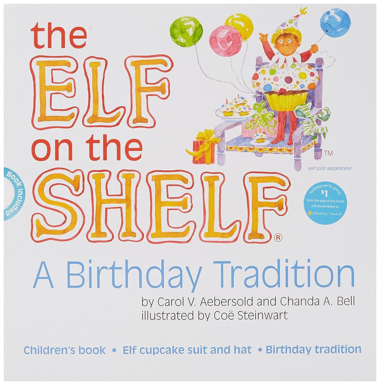 Le Lutin sur l'étagère–Une Tradition d'anniversaire livre