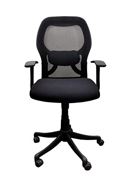 Swell Babar Low Back Executive Revolving Office Chair Black Machost Co Dining Chair Design Ideas Machostcouk