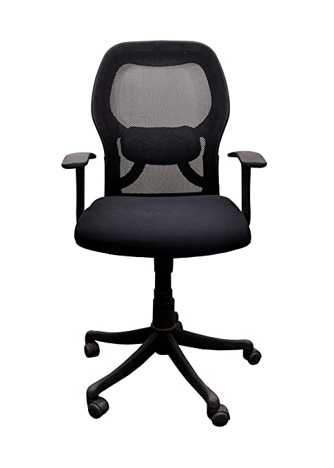 Babar Low Back Executive Revolving Office Chair Black Amazonin