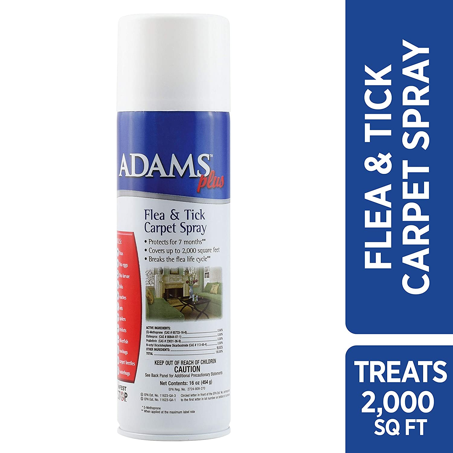 Adams Plus Flea & Tick Carpet Spray