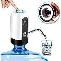 Moguat Dispensador de Agua para Garrafas con Adaptador, Grifo Dosificador Eléctrico Automático, Bomba Botella Agua Fria…