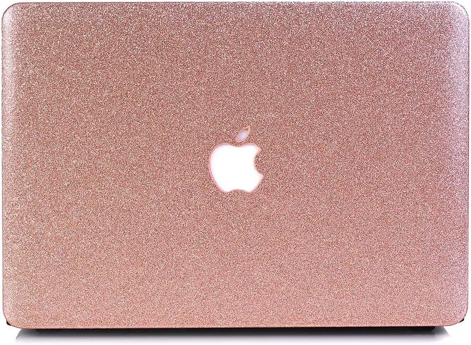"MacBook Air 11.6"" Case, One Micron Soft-Touch Crystal Smooth Lightweight Macbook Cover for MacBook Air 11 Inch(Model:A1465/A1370)-Rose Golden"