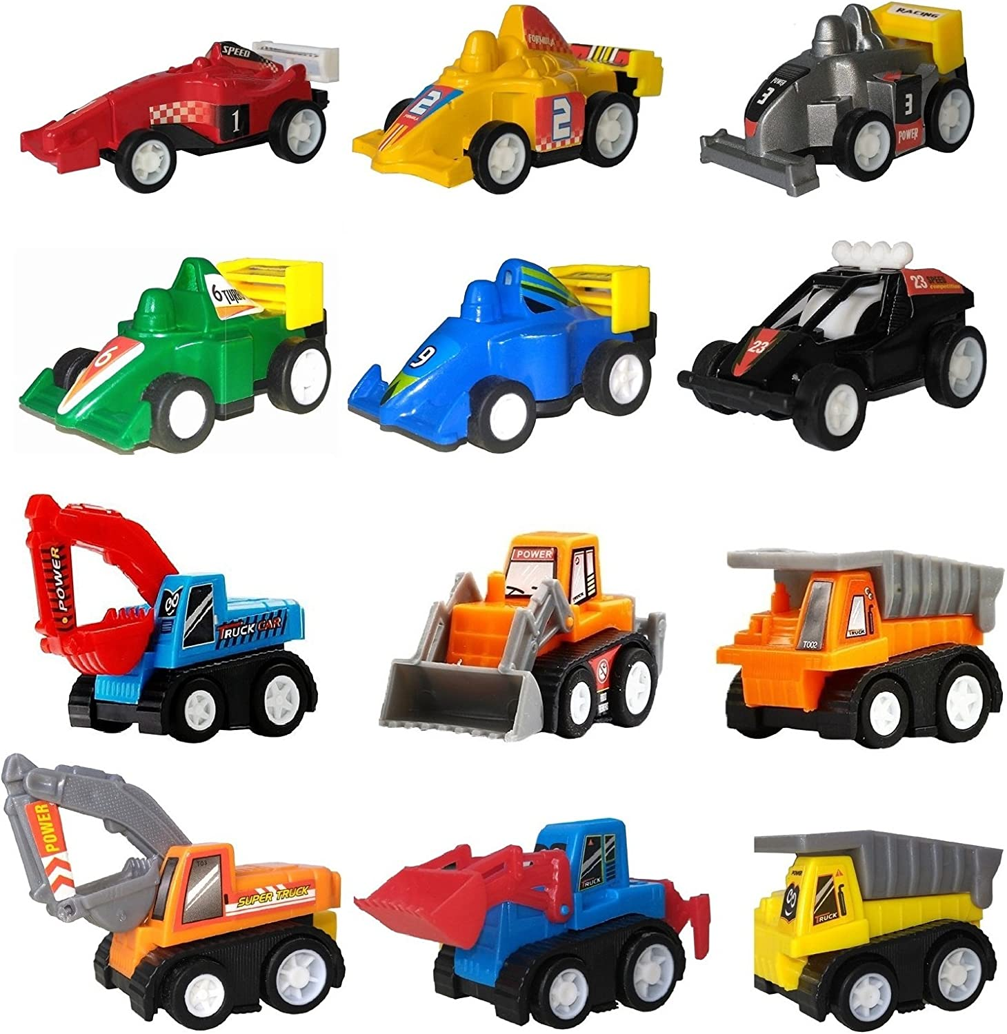 Amazon.com: Pull Back Cars, Toys for 2 3 4 5 Year Old Boys Toddlers, WINONE  12 Pack Kids Toys Vehicles and Racing Cars for Easter Egg Filler, Stocking  Stuffers,, Party Favors for