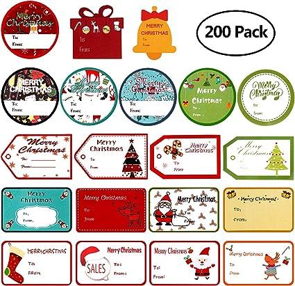 10 x Magic Reindeer Food Tags Labels Christmas Magic Novelty Xmas Eve Box