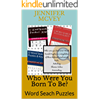 Who Were You Born To Be?: Word Seach Puzzles