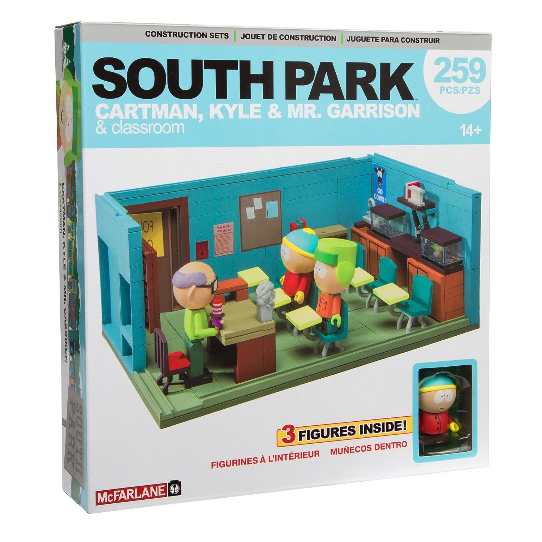 9229b537a5 Amazon.com: McFarlane Toys South Park Supercomputer Micro Construction Set:  Toys & Games