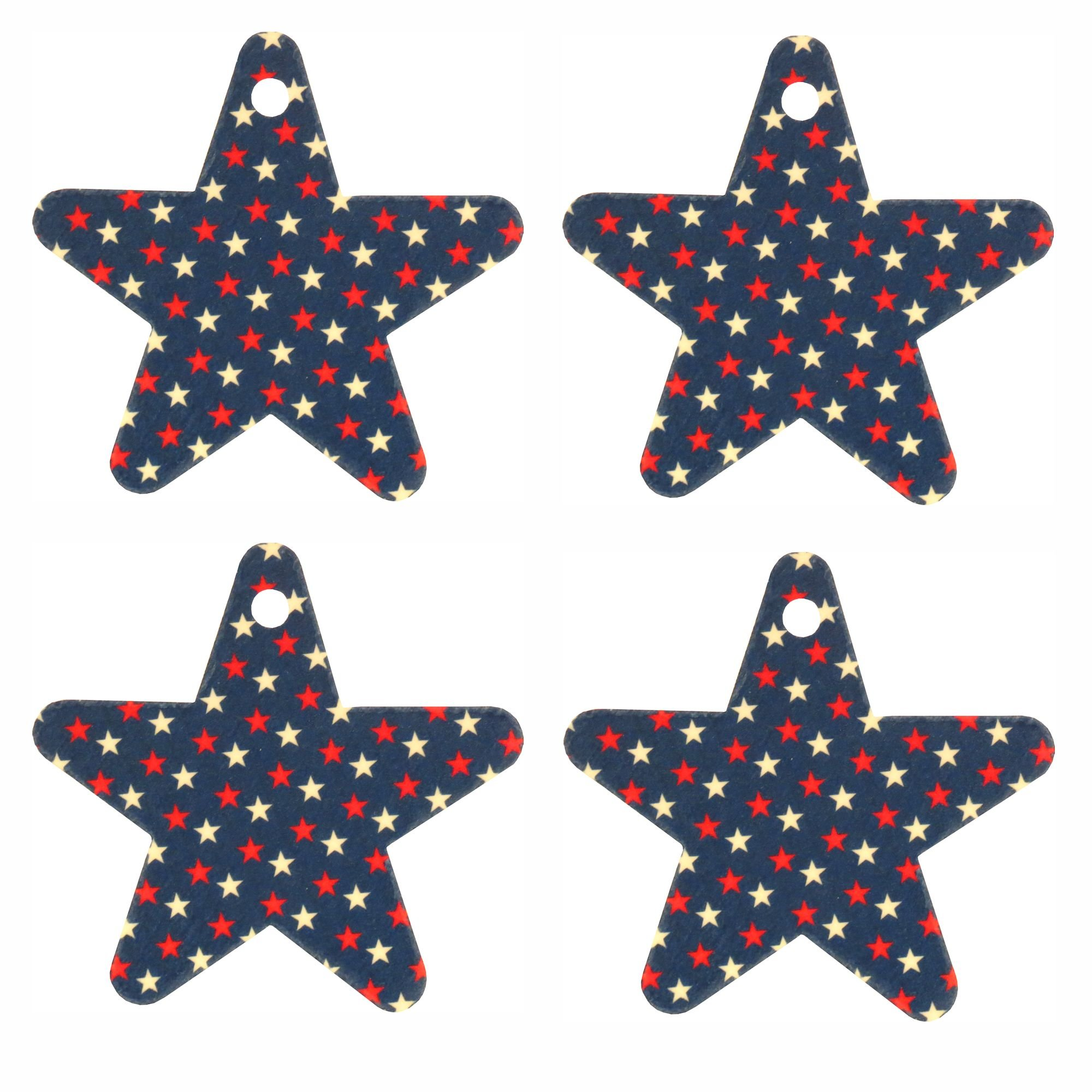 Set of Stars on Star Air Fresheners, Cedarwood Essential Oil by Eclectic Lady (Image #1)
