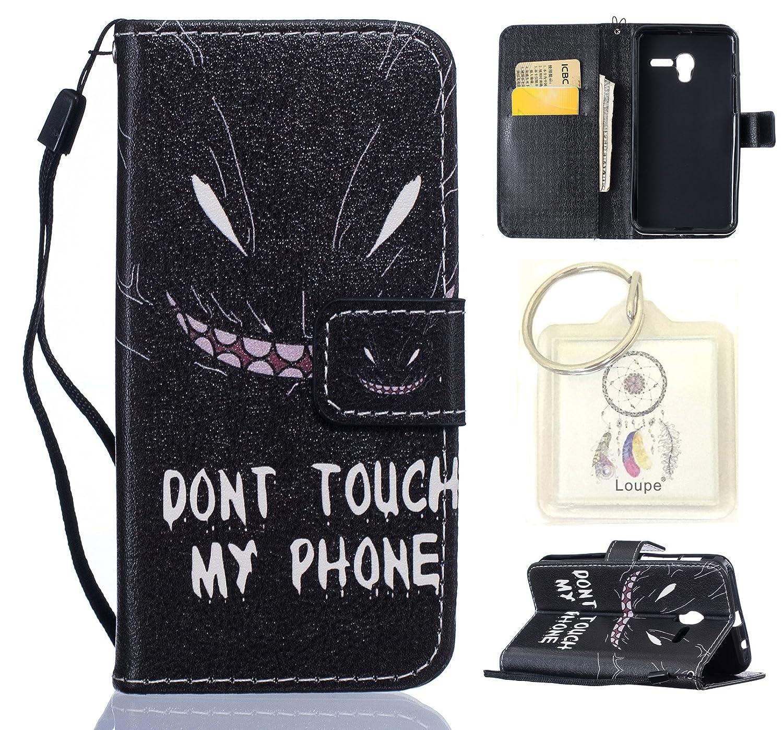 Coque pour Alcatel One Touch Pop 3 5.0, Etui pour Alcatel One Touch Pop 3 5.0 PU Cuir Flip Magné tique Portefeuille Etui Housse Coque en Cuir Portefeuille Housse de Case pour Alcatel One Touch Pop 3 5.0 + porte-clé s(E) Lohpe