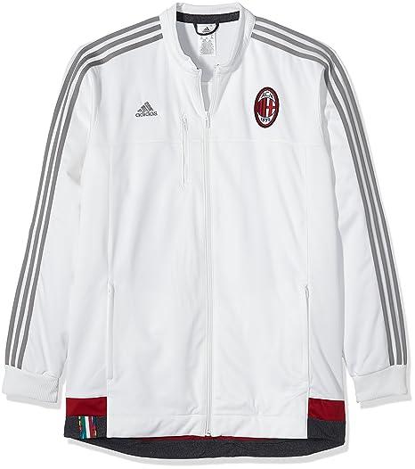 adidas Herren Jacke AC Mailand Anthem Core WhiteCh Solid