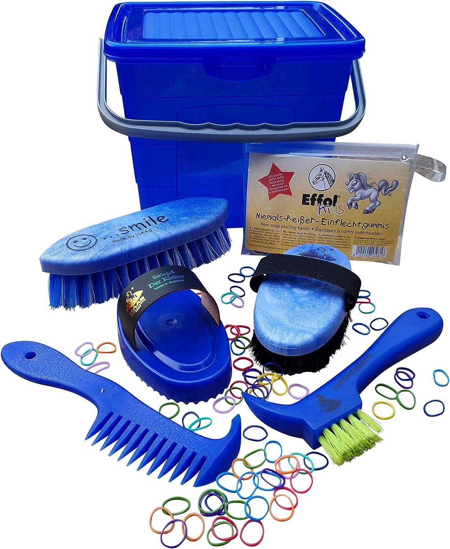 Mark GRAF Juego Haas Putz Box para niños Azul Relleno (+ Effol Nunca reißer