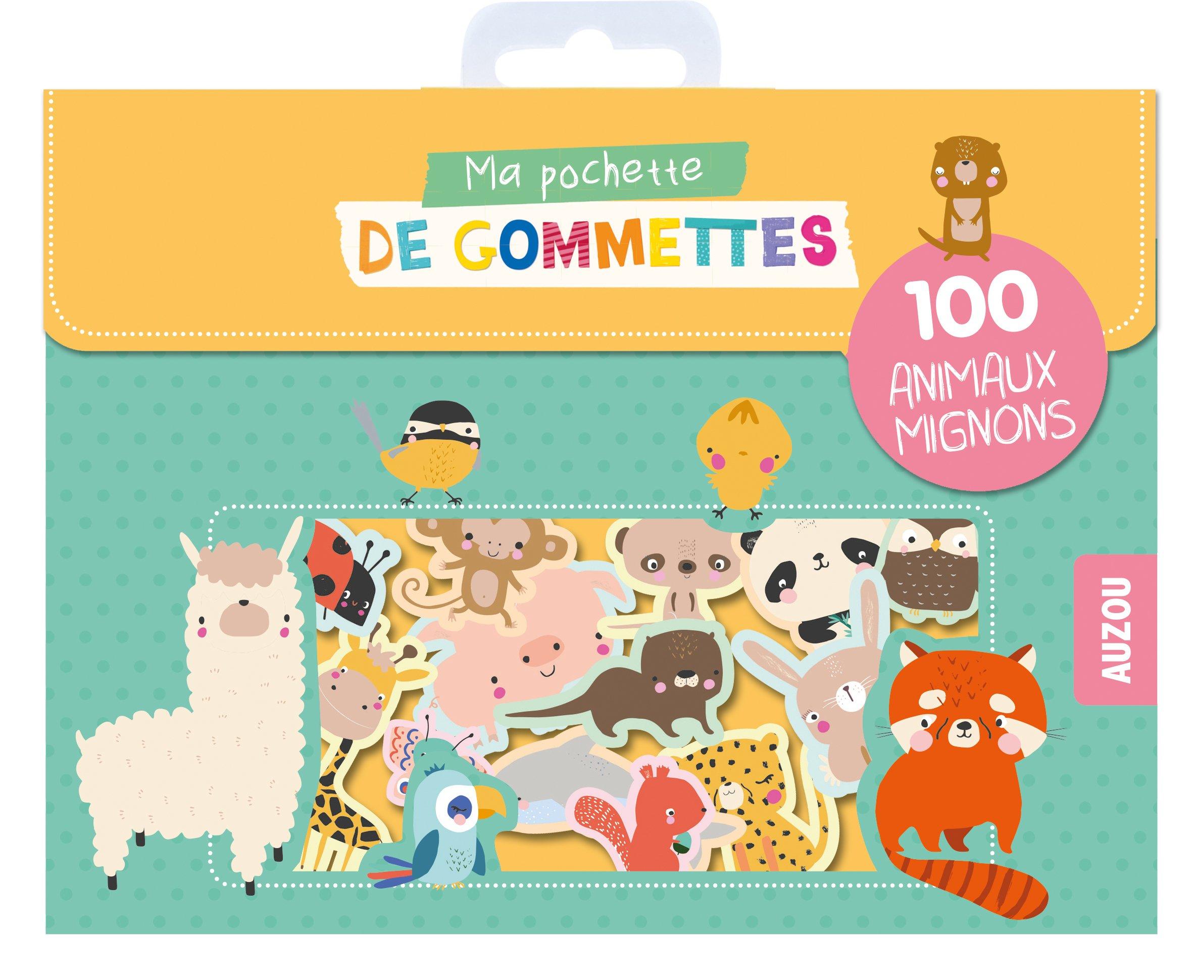 Ma pochette de gommettes - 100 animaux mignons Relié – 14 juin 2018 Lucia Wilkinson PHILIPPE AUZOU 2733859250 Jeunesse
