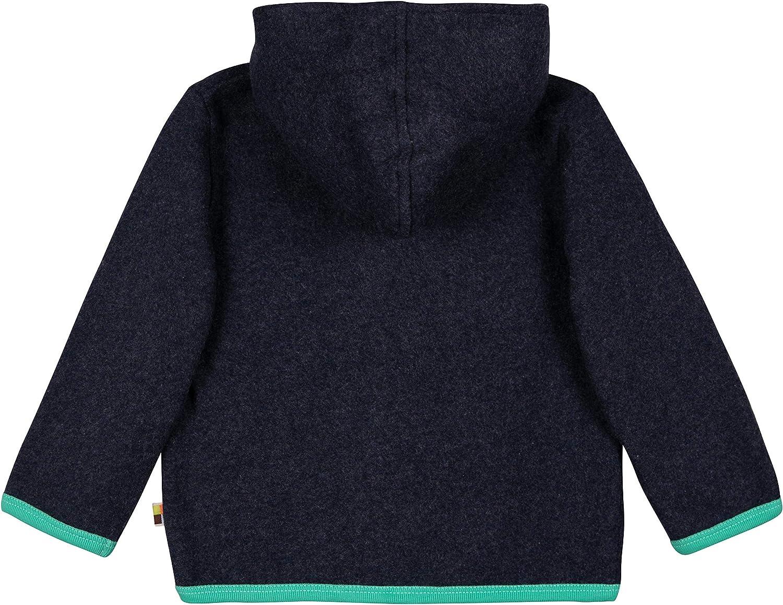 Gots Zertifiziert Sudadera para Beb/és loud proud Jacke Fleece Aus Bio Baumwolle