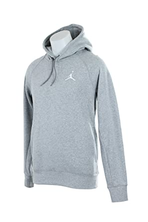 4dd72e08f83d Amazon.com  Mens Jordan Flight Pull Over Hooded Sweatshirt AJ823066 ...
