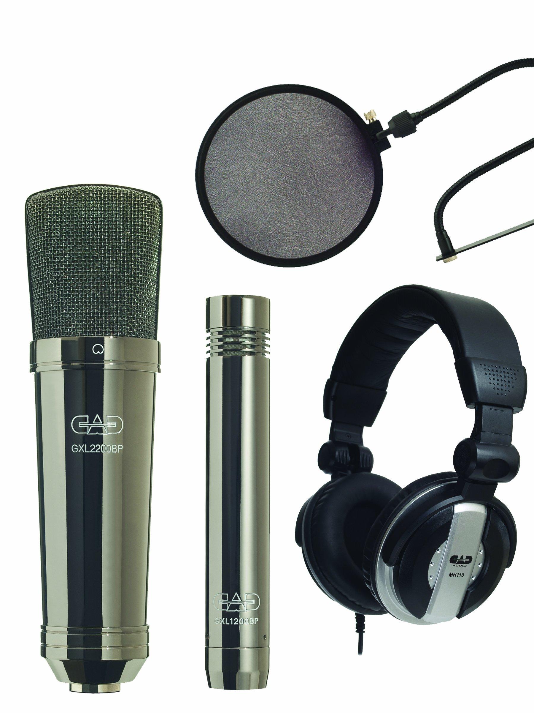 Microfono CAD Audio GXL2200SPBP Studio Pack - Includes GX...