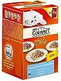 Gourmet Mon Petit Wet Cat Food Cod Sardine and Salmon - Pack of 8