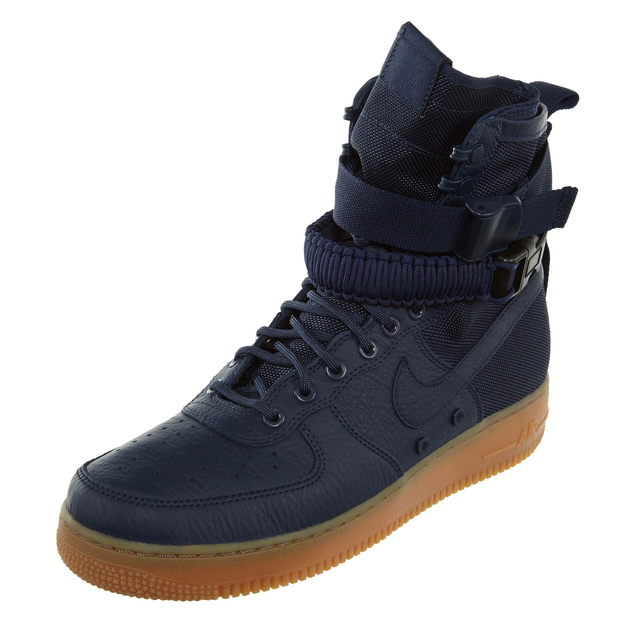 best website d27f7 c6ddd Galleon - Nike SF Air Force 1 Men s Boots Midnight Navy Midnight Navy  864024-400 (8 D(M) US)