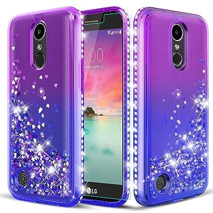 Amazon.com: TGOOD LG K20 Plus Funda con purpurina, LG ...