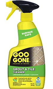 Goo Gone Grout & Tile Cleaner - Stain Remover - 14 Fl. Oz.