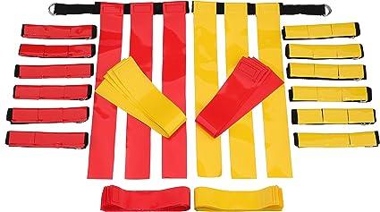 f/útbol Pack de 3 banderines para fiesta