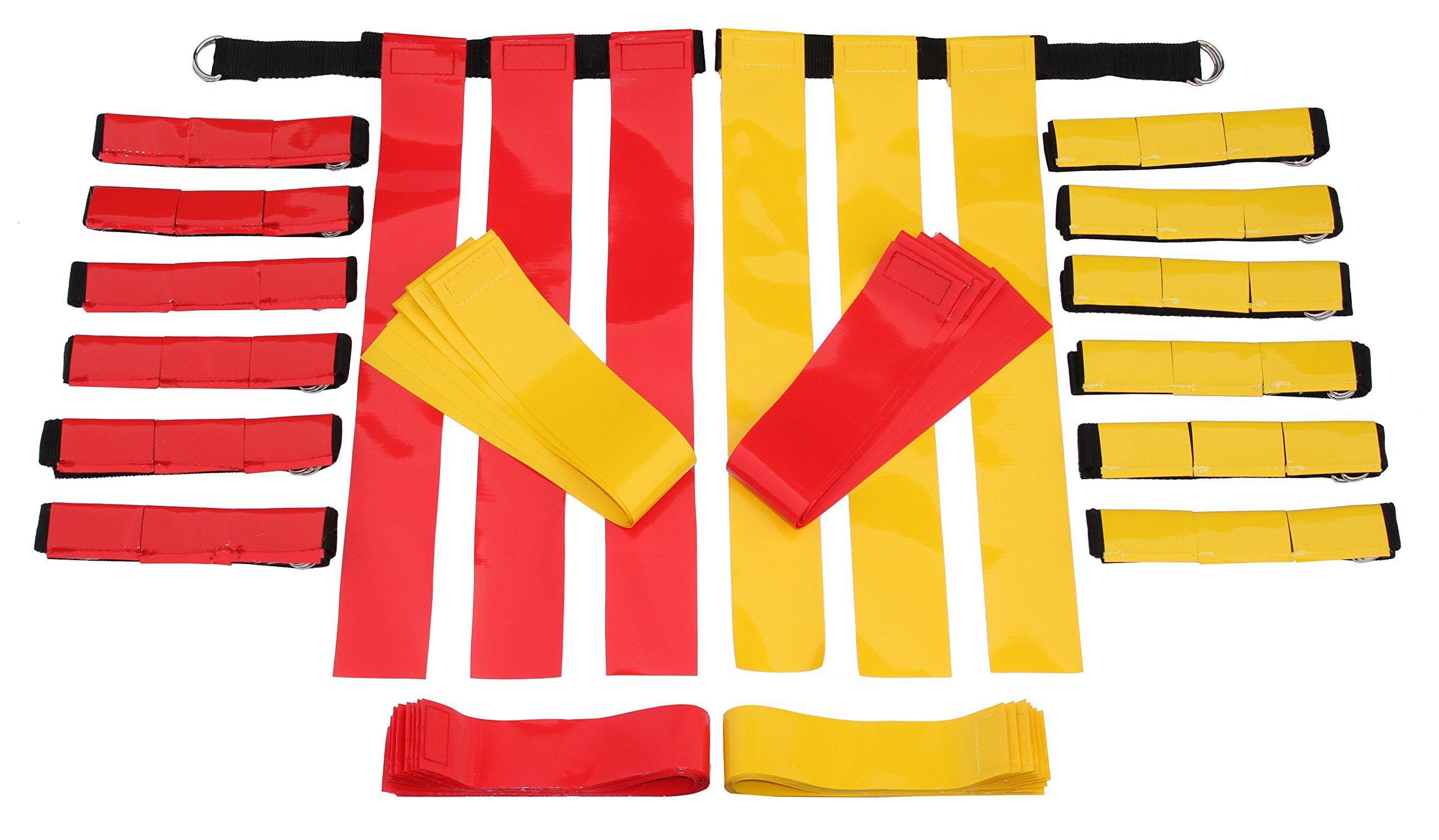Flag Football Belts Adult - Durable 14 Player Velcro Flag Football Set of  Belts and Flags b6c22be2e