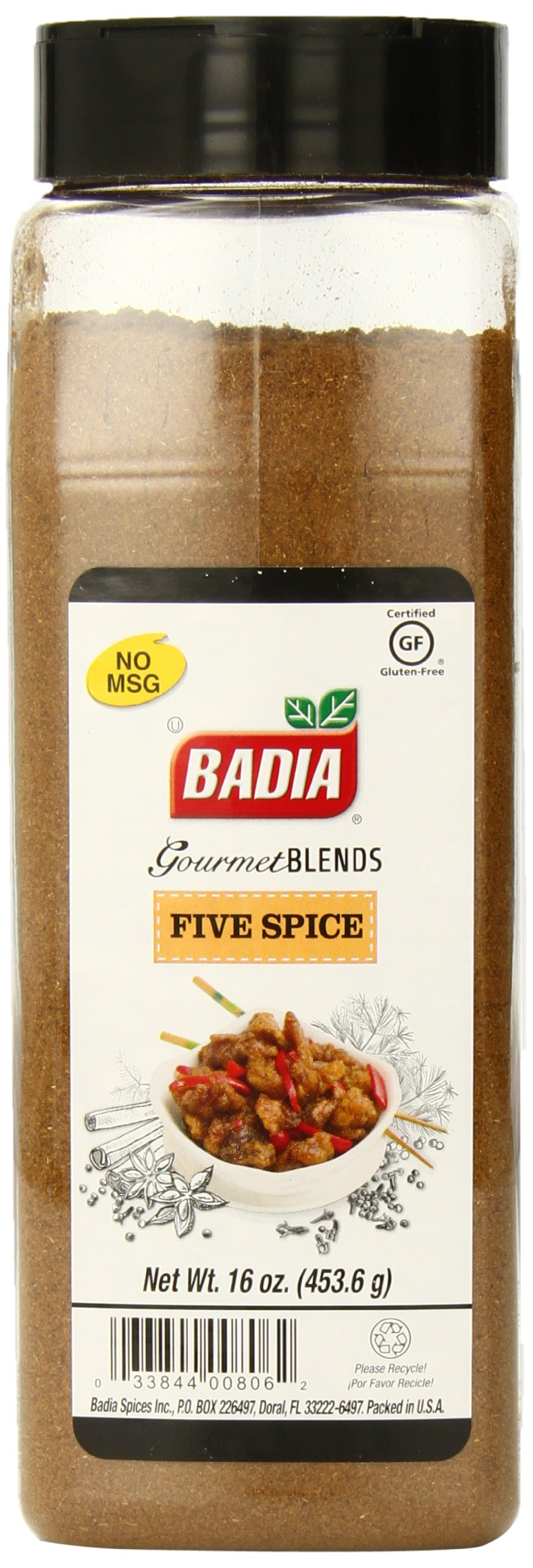 Badia Five Spice, 16 Ounce (Pack of 6) by Badia (Image #1)
