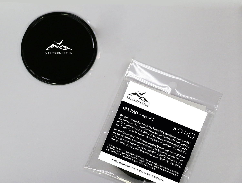 4 Universal Fixate Gel Antideslizante Pad Ideal para Coche salpicadero Soporte de balda y teléfono Móvil + Navi Protección Sujeción Mediante ...