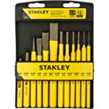STANLEY 16-299 Punch & Chisel Kit, 12-Piece