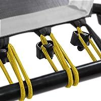 SportPlus Rubberen touwset voor SportPlus Fitness trampoline, 36 bungee-touwen incl. bevestigingsclips, diverse…