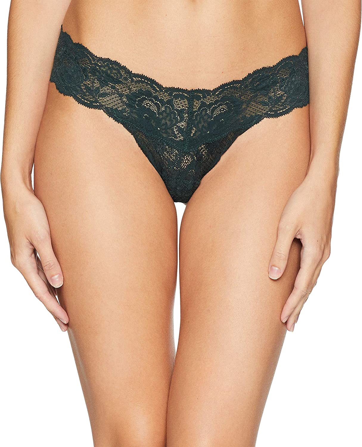 903efbbe0314 Amazon.com: Cosabella Women's Say Never Cutie Lowrider Thong, Darkest  Spruce, One Size Fits All: Clothing