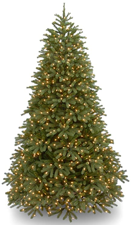 20c60d90bdfbc National Tree 7.5 Foot  quot Feel Real quot  Jersey Frasier Fir Medium Tree  with 1000