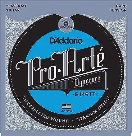 Amazon Daddario Ej46tt Proarte Dynacore Classical Guitar